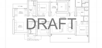 avenue-south-residence-floor-plan-4-bedroom-dp1-singapore